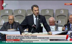 """Fikret Orman: """"Bu benim Beşiktaş'taki son seçimim"""""""