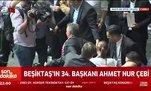 İşte Beşiktaş Başkanı Ahmet Nur Çebi'nin ilk açıklamaları