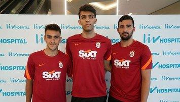Galatasaray'da sağlık kontrolleri başladı