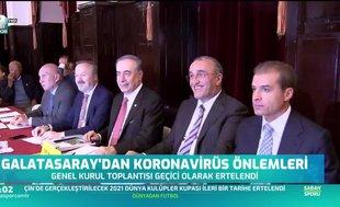 Galatasaray'dan koronavirüs önlemleri