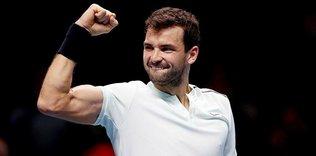 Grigor Dimitrov finale yükseldi