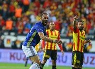 Göztepe - Fenerbahçe maçından kareler...
