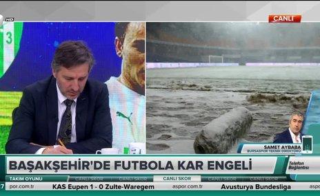 """Samet Aybaba: """"Hava şartları hakem için de uygundu"""""""
