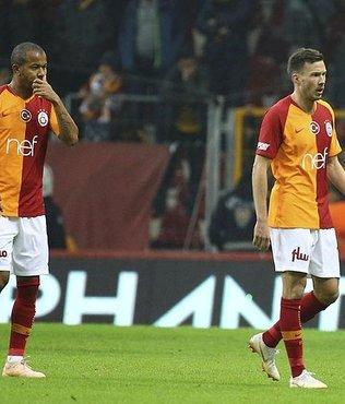 Galatasaray savunması dağıldı!