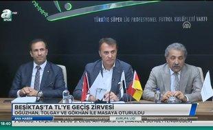 Beşiktaş'ta TL'ye geçiş zirvesi