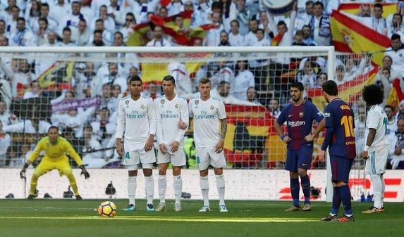 Real Madrid-Barcelona maçından kareler (23 Aralık)