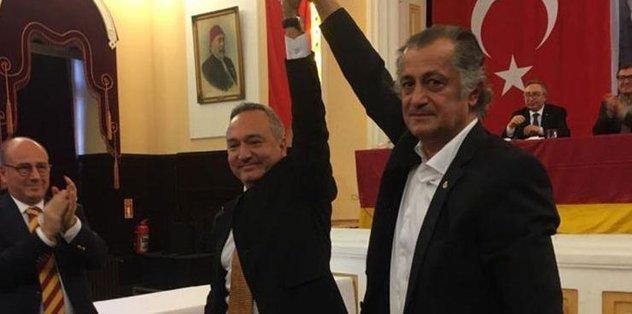 Galatasaraylılar Derneğinin yeni başkanı Fidel Berber oldu