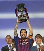 Messi'den tarihi rekor