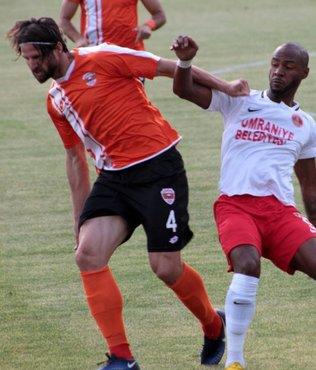 Ümraniyespor, Adanaspor'u 2-1 mağlup etti