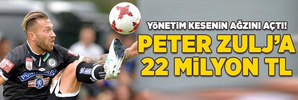 Beşiktaş Peter Zulj için ilk teklifini yaptı!