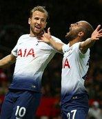 Tottenham, Manchester United'ı 3 golle geçti