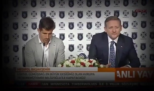 Medipol Başakşehir'den Emre Belözoğlu için veda klibi