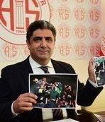 Antalyaspor'dan locada saldırı açıklaması