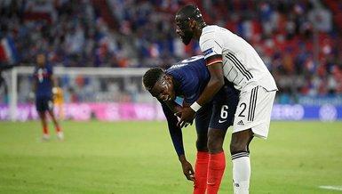 Son dakika spor haberi: EURO 2020'deki Fransa-Almanya maçında Rüdiger Pogba'yı ısırdı!