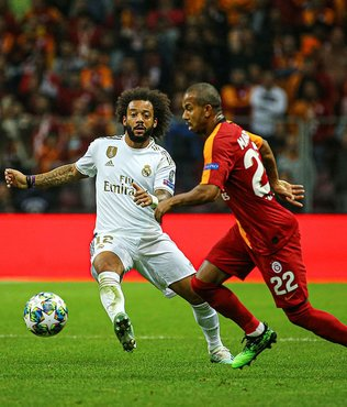 Marcelo: Galatasaray'ın stadın maç kazanmak zor