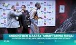 Andone'den Galatasaray taraftarına mesaj
