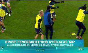 Fenerbahçe'de Kruse'nin durumu belirsiz!