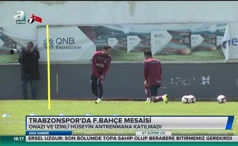 Trabzonspor'da Fenerbahçe mesaisi