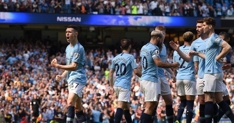 Manchester City - Tottenham maçından kareler (20 Nisan 2019)