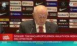 Özdemir'den Koç ve Özsoy'a transfer yanıtı