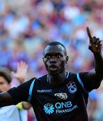Trabzon'da mutlu bir Senegal'li! Zargo Toure...