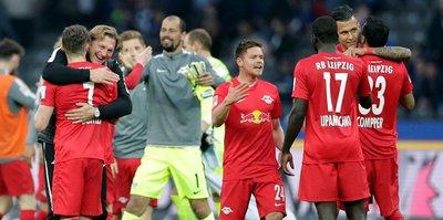 RB Leipzig'den büyük başarı