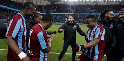Trabzonspor evinde 4 köşe
