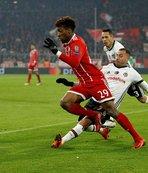 Bayern Münih'in 3 yıldızı Beşiktaş'a karşı yok