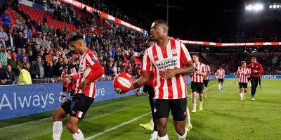 PSV Eindhoven farklı kazandı