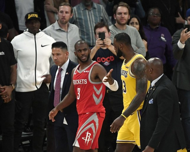 NBA'de yumruk yumruğa kavga! Chris Paul ve Rajon Rondo...