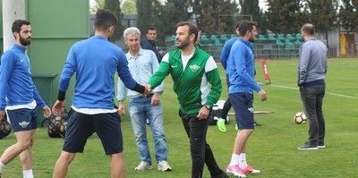 Akhisar, Bursaspor hazırlıklarına başladı