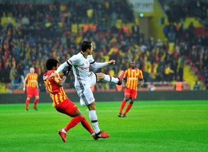 Kayserispor - Beşiktaş maçından fotoğraflar