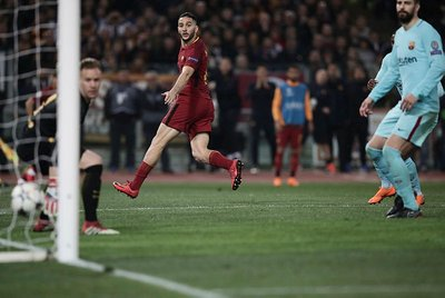 Cengiz Ünder Barçayı yıktı, sosyal medya sallandı!