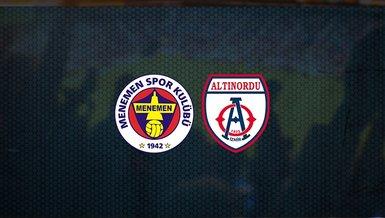 Menemenspor - Altınordu FK maçı ne zaman? Saat kaçta? Hangi kanalda canlı yayınlanacak? Şifresiz mi?