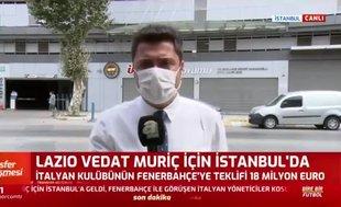 Lazio Vedat Muriqi için İstanbul'a geldi