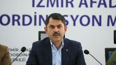 Son dakika İzmir depremi haberleri! Çevre ve Şehircilik Bakanı Murat Kurum'dan önemli açıklamalar