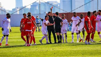 İstanbul'da olaylı maç