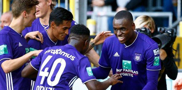 F.Bahçe'nin rakibi Anderlecht 4 golle kazandı