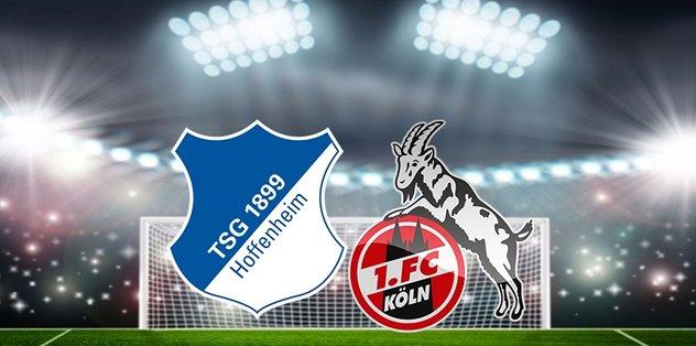 Hoffenheim-Köln maçı ne zaman? Saat kaçta? Hangi kanaldan canlı yayınlanacak? - camiasından -