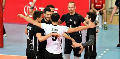 Beşiktaş set vermedi: 3-0