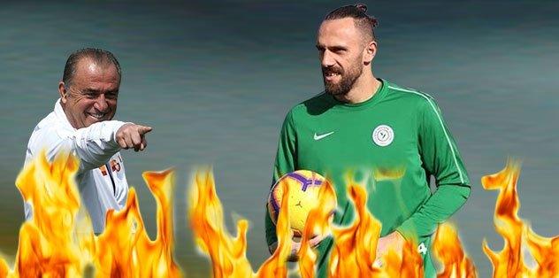 Galatasaray Vedat Muriç'e son teklifini yaptı!