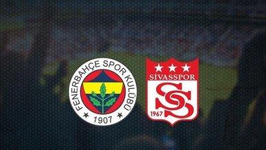 Fenerbahçe - Sivasspor maçı ne zaman? Saat kaçta? Hangi kanalda CANLI yayınlanacak? Fenerbahçe - Sivasspor maçı bilet fiyatları ne kadar?