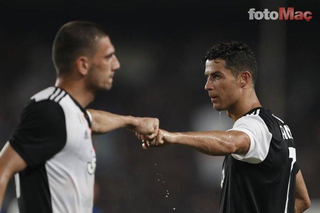 Juventus'ta son dakika! Merih Demiral...