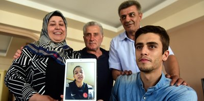 Madalyam Türkiye'ye armağan olsun
