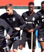 Beşiktaş'ta Çaykur Rizespor için son hazırlıkları yaptı!