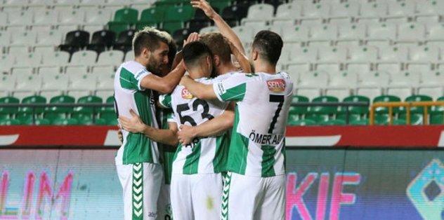 Atiker Konyaspor 3-0 Gençlerbirliği