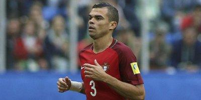 Pepe'ye yaştan veto!