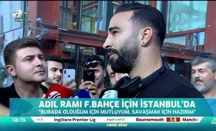 Adil RamiFenerbahçe için İstanbul'da