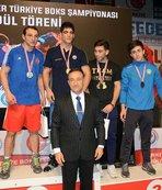 Balıkesir'de boks şampiyonası sona erdi