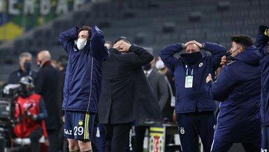 Son dakika Fenerbahçe haberleri   Kadıköy kabus oldu!